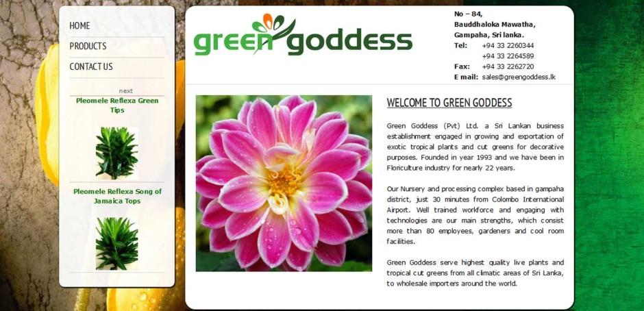 Greengoddess (Pvt) Ltd.