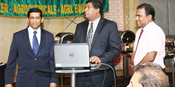 Import Section of Ceylon Chamber of Commerce Website Launch