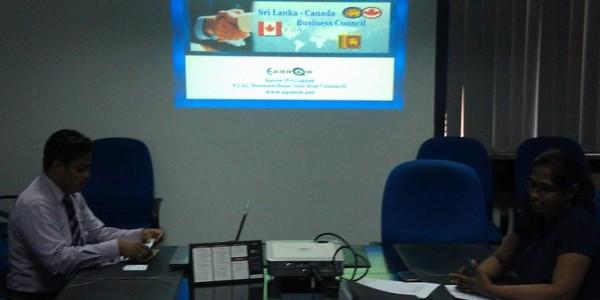 Sri Lanka-Canada Business Council Website Launch